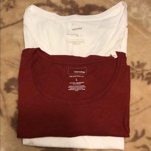 2 tee shirt Large